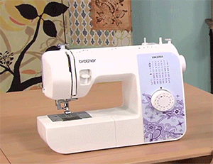 Brother Automatic Sewing Machine Lightweight Full Featured 27 Stitches XM2701